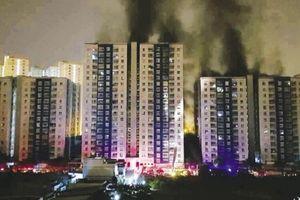 Vụ cháy chung cư Carina: Cuối tháng 6/2018 sẽ cấp phép sửa chữa