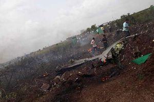 Chiến đấu cơ Su-30 Ấn Độ rơi khi bay thử nghiệm