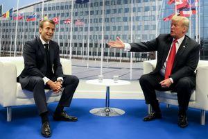 Tổng thống Trump 'mê mẩn' tiếng Pháp của ông Macron dù 'chẳng hiểu gì'