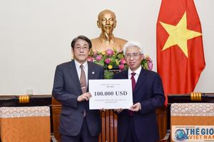 Việt Nam hỗ trợ Nhật Bản khắc phục hậu quả mưa lũ