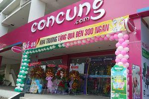 Khách hàng tố sản phẩm của siêu thị Con Cưng có dấu hiệu cắt đổi nhãn mác