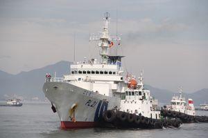 Tàu huấn luyện Kojima của Nhật Bản thăm Đà Nẵng