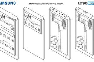 Samsung phát triển điện thoại không camera trước