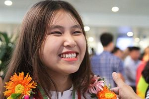 Hải Phòng thưởng 500 triệu cho nữ sinh giành HCV Olympic Sinh học