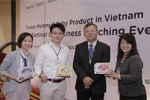 Sau 'kỷ nguyên trà sữa', Đài Loan nhập cuộc ngành hàng mẹ và bé tại Việt Nam