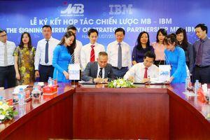 MB Bank ký kết thỏa thuận hợp tác chiến lược với Tập đoàn IBM