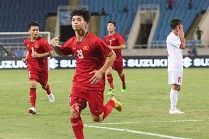 Olympic Việt Nam thắng Palestine 2 - 1