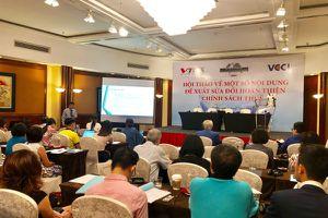 Hội thảo định hướng sửa đổi, hoàn thiện một số điều của các Luật Thuế
