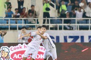 Chiêm ngưỡng tuyệt phẩm vẩy má ngoài của Văn Hậu vào lưới U23 Oman