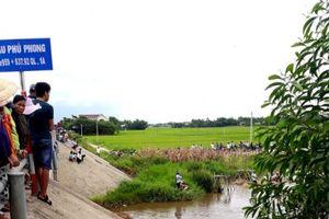 Quảng Nam: Tìm thấy thi thể cháu bé 27 tháng tuổi mất tích 1 ngày trước