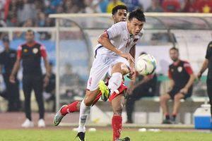 Xem lại siêu phẩm 'má ngoài' của Văn Hậu vào lưới U23 Oman