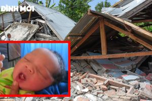 Người mẹ liều mình sinh con trong thảm họa ở Indonesia và được đặt tên là 'Động Đất'