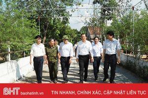 Khu dân cư mẫu ở Hà Tĩnh thể hiện cốt lõi của nông thôn mới