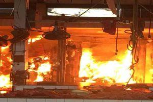 Khởi tố điều tra vụ cháy chợ Sóc Sơn