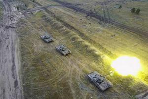 Ly khai miền Đông Ukraine học tập chiến thuật sử dụng xe tăng của Syria