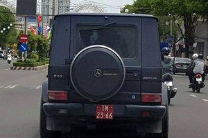 Tài xế lái xe tiền tỷ mang biển đỏ giả là ai?