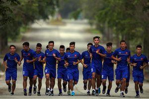 Cận cảnh buổi tập 'kỳ dị' của U23 Việt Nam