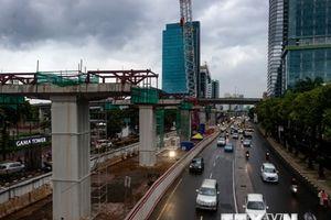 Indonesia: Hàng loạt sự cố gây gián đoạn hệ thống tàu điện trên cao