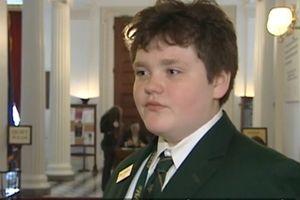 Học sinh 14 tuổi tranh cử thống đốc bang ở Mỹ