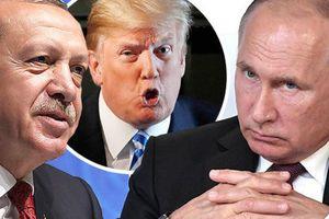 Mỹ-Thổ Nhĩ Kỳ trở mặt với nhau, Nga ung dung ngồi hưởng lợi