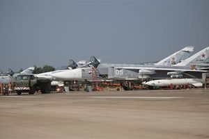 16 máy bay không người lái bị không lực Nga bắn hạ tại Syria