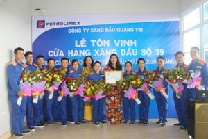 Cửa hàng xăng dầu số 39 tại Quảng Trị bán xăng dầu vượt 1.000 m3/tháng chỉ sau chưa đầy một năm khai trương