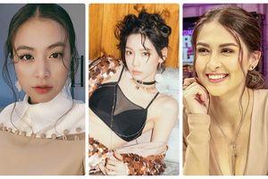 Loạt sao Việt, Philippines và Hàn Quốc đẹp hút mắt với kiểu tóc mái đáng yêu đụng độ nhân vật hoạt hình ngộ nghĩnh