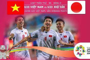 Cách xem trận U23 Việt Nam vs U23 Nhật Bản, ASIAD 2018: có nên thua để đi tiếp?