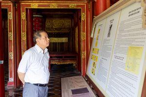 Chủ tịch UBND tỉnh Thừa Thiên - Huế kiểm tra dự án trùng tu phục hồi di tích Cố đô Huế