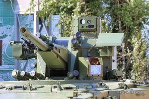 Không cần tên lửa, T-15 Armata Nga vẫn bắn hạ được M1 Abrams?