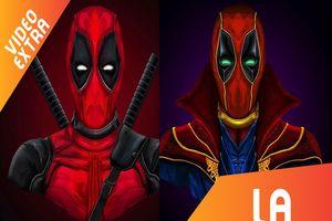 Khi Deadpool khoác bộ dạng của các siêu anh hùng khác