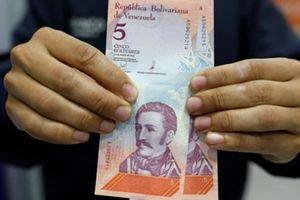 Venezuela tê liệt sau khi phát hành đồng tiền mới
