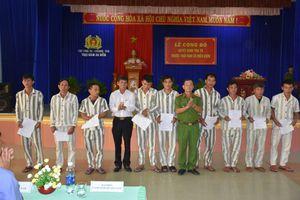Quảng Nam: Tha tù trước thời hạn cho 19 phạm nhân