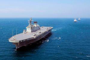 Hàn Quốc biến tàu đổ bộ thành hàng không mẫu hạm