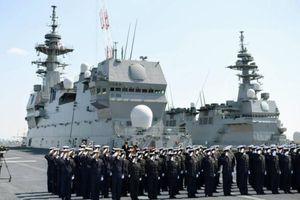 Nhật Bản gửi 3 tàu chiến đến Biển Đông, Ấn Độ Dương