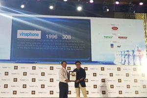 VNPT và VinaPhone được vinh danh Top 40 thương hiệu công ty Việt Nam giá trị nhất 2018