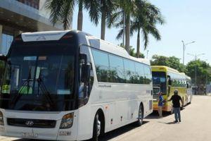 Đà Nẵng:Kiểm tra xe khách trá hình biển số nước ngoài