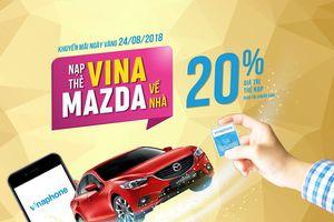 VinaPhone khuyến mại Ngày vàng ngày 24/08/2018