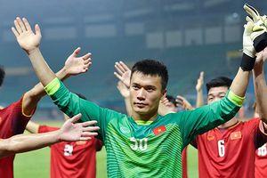 Olympic Việt Nam ăn mừng kiểu Viking sau chiến thắng lịch sử trước Bahrain
