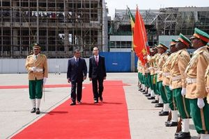 Chủ tịch nước Trần Đại Quang thăm cấp Nhà nước Ethiopia, hội đàm với Tổng thống Mulatu Teshome