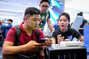 Galaxy Note9 gây sốt trên mạng xã hội ngày mở bán ở VN