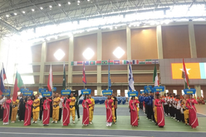 Gần 300 vận động viên dự Giải vô địch Thế giới Võ cổ truyền Việt Nam