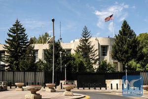 Thổ Nhĩ Kỳ bắt giữ thêm 2 nghi phạm vụ nổ súng vào Đại sứ quán Mỹ