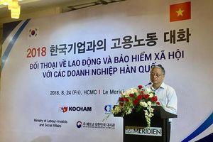 Doanh nghiệp Hàn kiến nghị chẻ nhỏ bậc lương