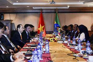 Ethiopia ấn tượng với sự phát triển kinh tế của Việt Nam