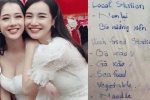 Thực đơn 'bất thường' và giá trị bàn tiệc trong lễ đính hôn Nhã Phương, Trường Giang