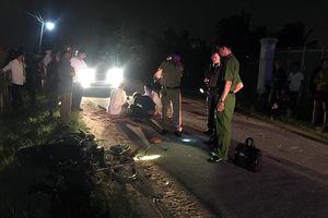 Hai xe máy đối đầu trong đêm, 2 thanh niên chết thảm