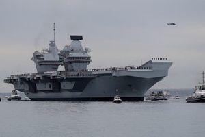 Bất ngờ mục đích tới Mỹ của tàu sân bay lớn nhất nước Anh