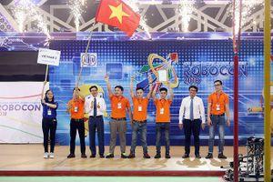 Việt Nam vô địch Robocon châu Á Thái Bình Dương