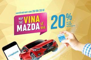 VinaPhone khuyến mại Ngày vàng ngày 28/08/2018